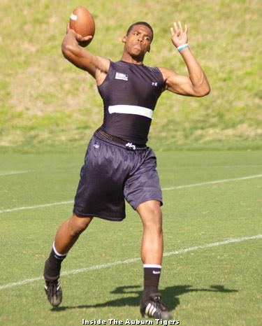 Is Cam Newto... Quarterback Individual Drills